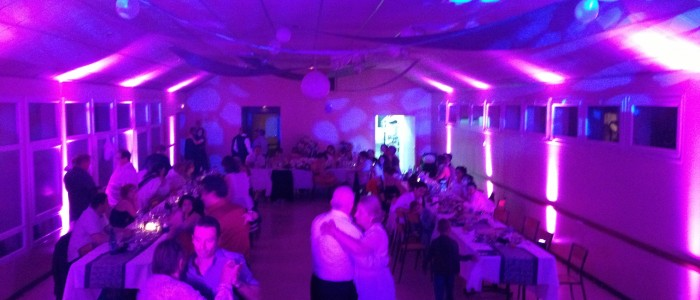 Decoration LED mariage
